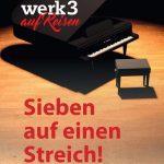 TheaterThekenNacht - werk3 auf Reisen - 7 auf einem Streich!