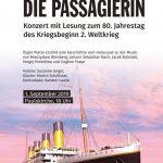 Die Passagierin - Achtung! Neuer Veranstaltungsort: werk3/KlangWert - Konzert zum Weltfriedenstag