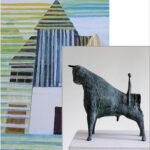 Anneliese Schöfbeck, Malerei - Rainer Kessel, Skulpturen